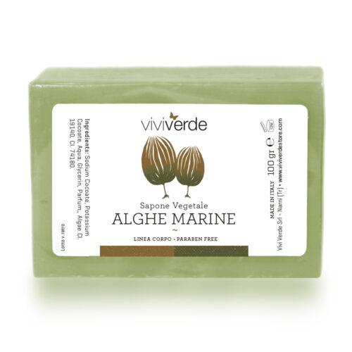 Sapone Vegetale Alghe Marine 100gr