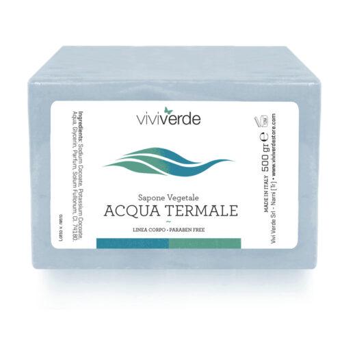 Sapone Vegetale Acqua Termale 500gr